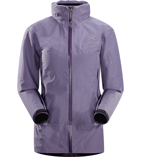Theta SL Hybrid Jacket Women's Lightweight, packable, waterproof GORE-TEX jacket, designed for emergency storm-protection in inclement weather.