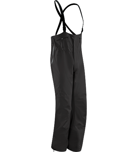 Theta SV Bib Men's Newly redesigned with enhanced GORE-TEX Pro fabric with a softer face and a refined fit. Waterproof high-waisted bib pant; Ideal in harsh weather conditions.