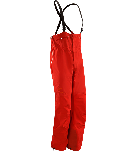 Theta SV Bib Men's Newly redesigned with enhanced GORE-TEX® Pro fabric with a softer face and a refined fit. Waterproof high-waisted bib pant; Ideal in harsh weather conditions.