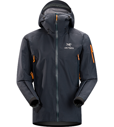 Theta SV Jacket Men's Our toughest and longest length waterproof GORE-TEX® Pro Shell jacket. Sized to accommodate extra layering for extreme weather conditions.