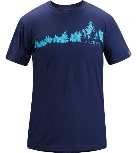 Treeline T-Shirt Men's 100% cotton, short-sleeved t-shirt with illustrated graphic