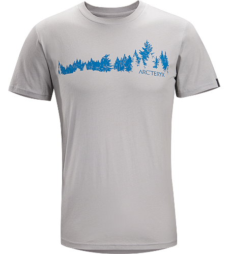 Treeline T-Shirt Homme T-shirt  manches courtes, 100% coton, avec graphisme illustr