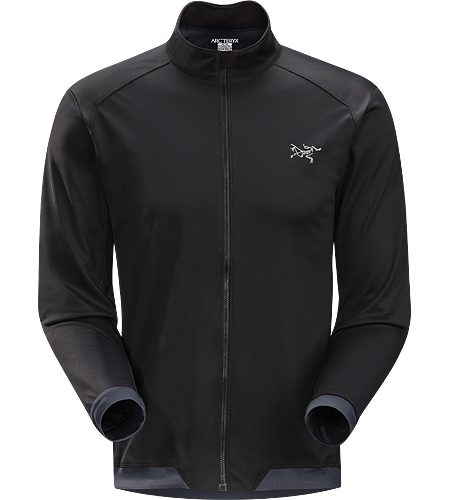 Trino Jersey LS Men's Performance oriented jacket with a combination of WINDSTOPPER and stretchy Altasaris fabric for increased breathability. Ideal for high-output activities in cold conditions such as winter running and cross country skiing