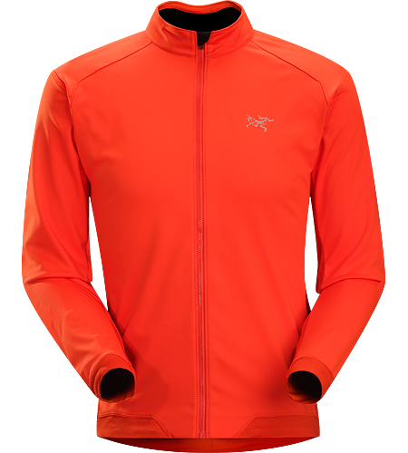 Trino Jersey LS Men's Performance oriented jacket with a combination of WINDSTOPPER® and stretchy Altasaris™ fabric for increased breathability. Ideal for high-output activities in cold conditions such as winter running and cross country skiing