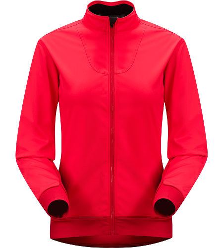 Trino Jersey LS Women's Performance oriented jacket with a combination of WINDSTOPPER and stretchy Altasaris fabric for increased breathability. Ideal for high-output activities in cold conditions such as winter running and cross country skiing