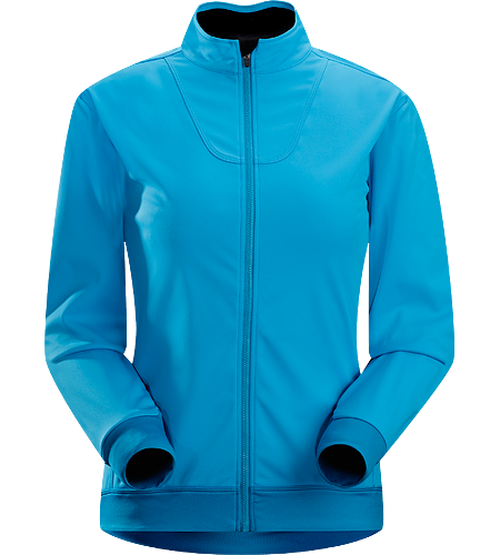 Trino Jersey LS Women's Performance oriented jacket with a combination of WINDSTOPPER® and stretchy Altasaris™ fabric for increased breathability. Ideal for high-output activities in cold conditions such as winter running and cross country skiing