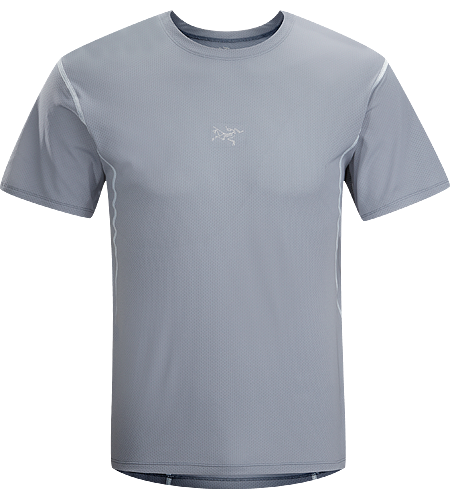 Velox Crew Men's Lightweight, highly breathable, moisture wicking T-shirt for training during warmer conditions.