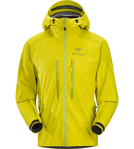 Venta MX Hoody Men's Windproof, breathable softshell jacket incorporating two weights of WINDSTOPPER® textile for active use on frigid days.