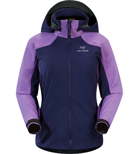 Venta SV Jacket Women's Windproof, breathable, lightly insulated softshell jacket for active use on frigid days.