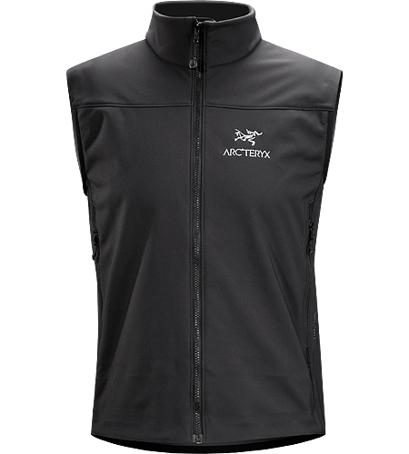 Venta Vest Men's Windproof, breathable vest designed to provide core warmth during high-output activities in cooler weather.