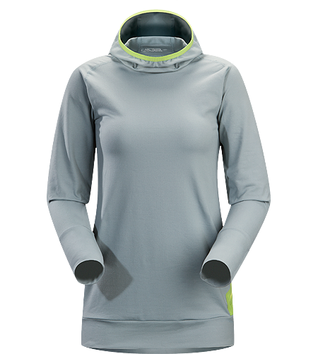 Vertices Hoody Women's A trim fitted, cold weather, base layer with a balaclava style hood