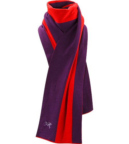 Vestigio Scarf Made with soft and comfortable 100% Merino wool, this dual striped scarf is warm and stylish.