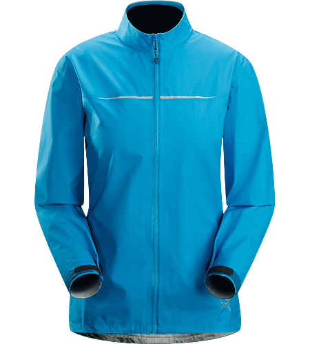 Visio FL Jacket Women's Super lightweight, waterproof, breathable jacket constructed using new GORE-TEX Active Shell textile for ultimate waterproof protection during fast moving activities.