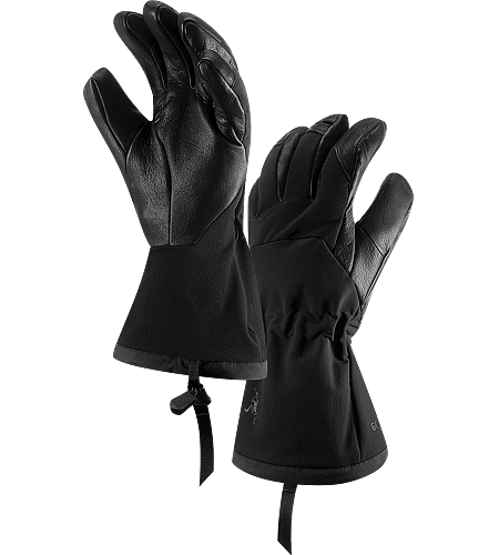 Zenta AR Glove Men's Komplett wasserdichter, geftterter und atmungsaktiver Handschuh mit langer Manschette und Kordelzug am Handgelenk.