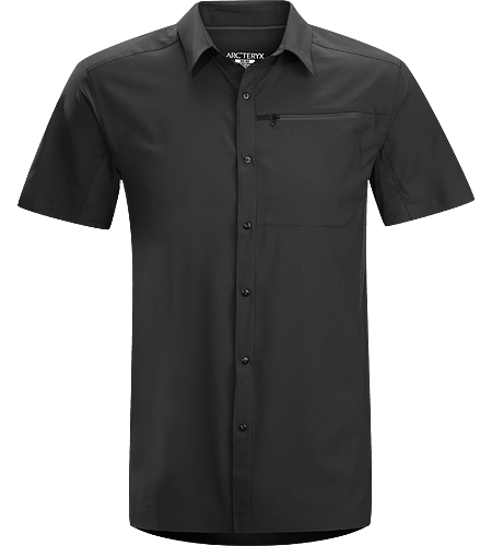 Adventus Comp SS Men's Super lightweight, quick-drying short-sleeved shirt that helps keep you cool and dry.
