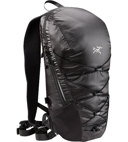 Aerios 7 Lightweight, body-hugging hydration pack, designed for use on the trails.