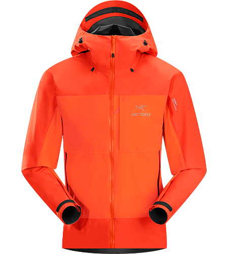 Alpha Composites for ice climbers and alpinists offer more protection than a softshell, but stop short of replacing a hardshell. They are for the fast and light world of rapid travel, mixed environments and alpine conditions. Source: . Credit: Arc'teryx,  Licensed under: Public Domain.