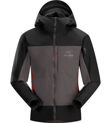 Alpha Comp Hoody Men's <strong>Alpha Series: Climbing and alpine focused systems. </strong>Composite construction jacket with versatile thermal management and zonal weather protection in a single garment.