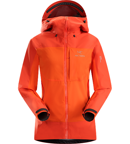 Alpha Comp Hoody Women's <strong>Alpha Series: Climbing and alpine focused systems. </strong>Composite construction jacket with versatile thermal management and zonal weather protection in a single garment.