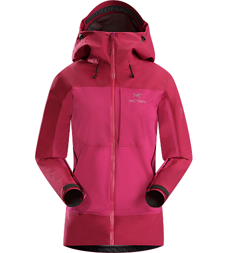 Alpha Comp Hoody Women's Alpha Series: Climbing and alpine focused systems. Composite construction jacket with versatile thermal management and zonal weather protection in a single garment.