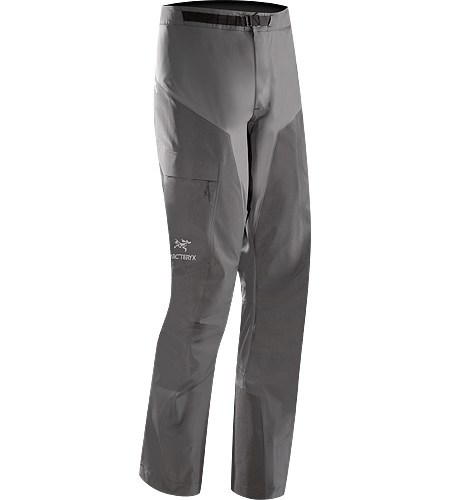 Alpha Comp Pant Men's Alpha Series: Climbing and alpine focused systems. Composite construction pants with versatile thermal management and zonal weather protection in a single garment