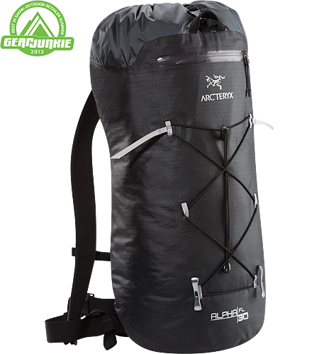 Alpha FL 30 Alpha Series: Climbing and alpine focused systems | FL: Fast and Light. Ultralight and highly weather resistant 30 litre climbing pack suited to fast and light alpine, ice and rock routes.