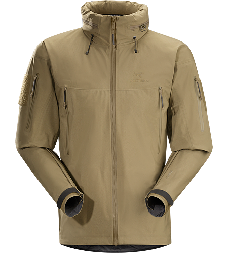 Alpha Jacket Men's Full protection shell jacket that provides shelter from storms, rain, snow and can withstand the challenges of everyday use.