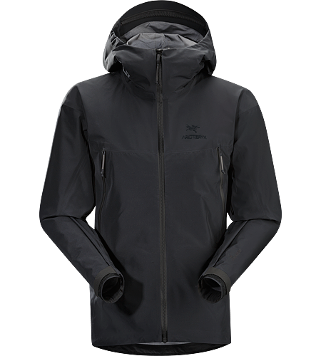 Alpha LT Jacket Men's Alpha Series: Climbing and alpine focused systems | LT: Lightweight. Exceptionally lightweight, durable and fully waterproof jacket for all alpinist sports; ideal for use with a climbing harness.