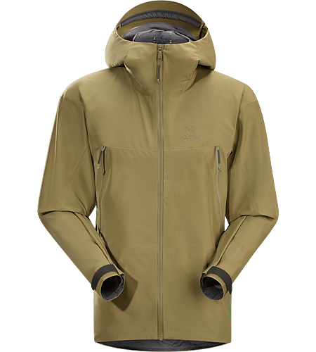 Alpha LT Jacket Men's Lightweight and packable waterproof, windproof/breathable jacket that is comfortable to wear during fast travel under inclement conditions.