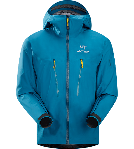 Alpha LT Jacket Men's <strong>Alpha Series: Climbing and alpine focused systems | LT: Lightweight. </strong>Exceptionally lightweight, durable and fully waterproof jacket for all alpinist sports; ideal for use with a climbing harness.