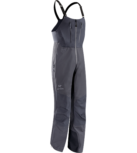 Alpha SV Bib CZ Men's Alpha Series: Climbing and alpine focused systems | SV: Severe Weather. Waterproof/breathable GORE-TEX® Pro bib pant for severe weather conditions has high back and through-the-crotch zip, exceptionally durable N80p-X face fabric and large storage pockets.