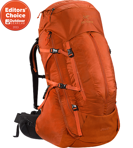 Altra 65 Men's Five plus day, 65 litre volume trekking and backpacking pack constructed with the new C² Composite Construction system,