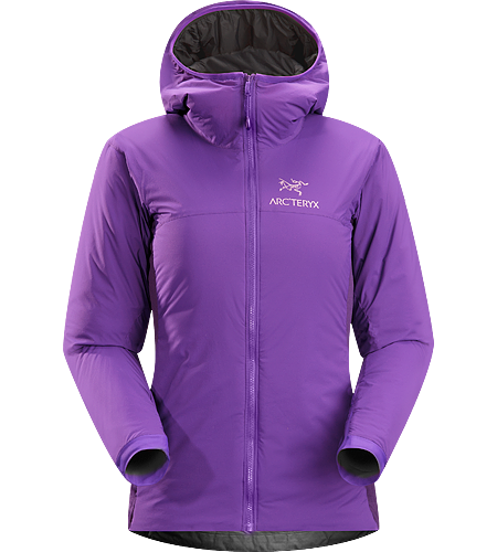 Atom LT Hoody Women's <strong>Atom Series: Synthetic insulated mid layers | LT: Lightweight. </strong>Lightweight, breathable, insulated hoody; Ideal as a stand-alone piece in fair weather, or as a layering piece in cold conditions
