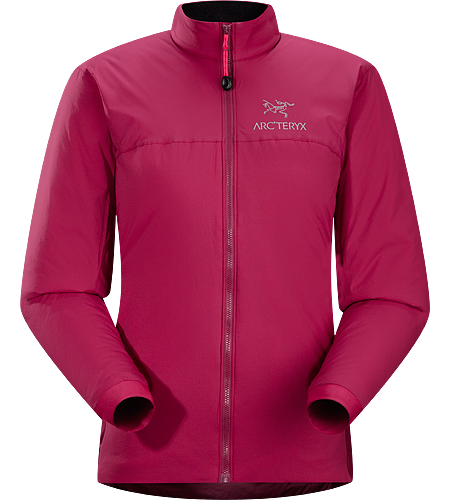 Atom LT Jacket Women's Atom Series: Synthetic insulated mid layers | LT: Lightweight. Insulated, mid-layer jacket with wind and moisture resistant outer face fabric; Ideal as a layering piece for cold weather activities.