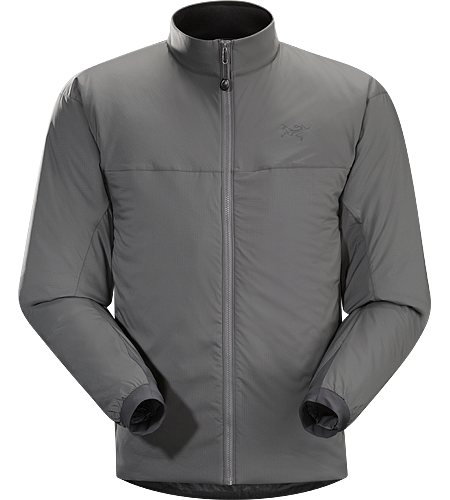 Atom LT Jacket Men's Exceptionally lightweight insulated mid layer that retains core warmth by blocking wind and trapping warm air next to the body, the Atom LT can also function as a wind resistant outer layer.