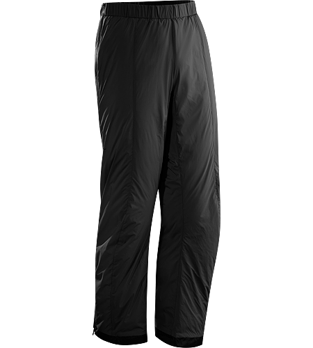 Atom LT Pant <div class='outdoormbdata'><strong>Atom Series: Synthetic insulated mid layers | LT: Lightweight. </strong>Insulated, wind-resistant pants using Coreloft 60™ for lightweight, insulative comfort during colder conditions. Ideal during Alpine adventures as an over layer to preserve body heat during periods of low activity. </div><div class='leafmbdata'>Arc'teryx-developed Coreloft™ insulation has a very high warmth-to-weight ratio, meaning it delivers great warmth for very little weight and low profile volume.</div>