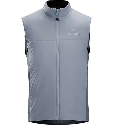 Atom LT Vest Men's Atom Series: Synthetic insulated mid layers | LT: Lightweight.Lightweight, insulated Coreloft™ vest, designed to preserve core warmth; Ideal as a layering piece for cold weather activities.