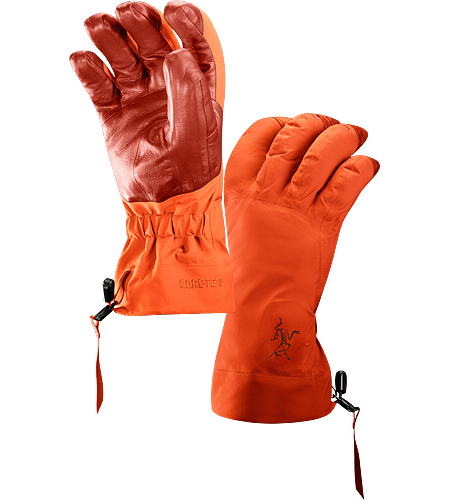 Beta AR Glove Men's Beta Series: All-round mountain apparel | AR: All-Round. Anatomically designed, waterproof gloves with fleece liner and easy-pull wrist cinch system. Ideal for all around alpine adventures. Anatomically designed, waterproof gloves with fleece liner and easy-pull wrist cinch system