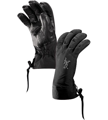 Beta AR Glove Women's Beta Series: All-round mountain apparel | AR: All-Round. Anatomically designed, waterproof gloves with fleece liner and easy-pull wrist cinch system. Ideal for all around alpine adventures