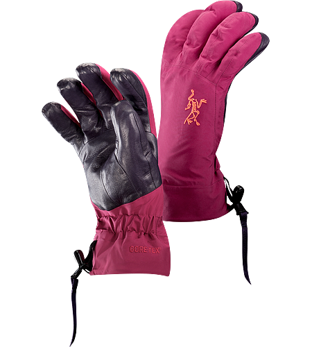 Beta AR Glove Women's <strong>Beta Series: All-round mountain apparel | AR: All-Round. </strong>Anatomically designed, waterproof gloves with fleece liner and easy-pull wrist cinch system. Ideal for all around alpine adventures