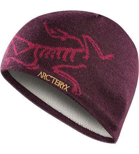 Bird Head Toque Stylish wool/acrylic mix toque with large knitted bird logo