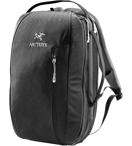 Blade 15 Svelte travel backpack with laptop and accessory compartments.