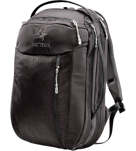 Blade 24 <div class='outdoormbdata'>Mid-sized travel backpack with laptop and accessory compartments.</div><div class='leafmbdata'>The mid-sized Blade 24 features a small fleece lined top pocket to protect electronics and a suspended laptop compartment with a laminated easy in/out computer protector. </div>