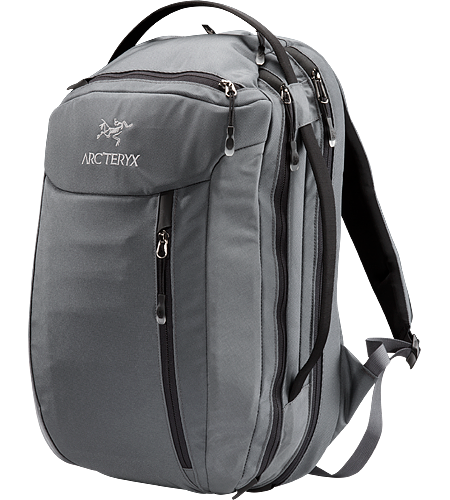 Blade 24 Mid-sized travel backpack with laptop and accessory compartments. The mid-sized Blade 24 features a small fleece lined top pocket to protect electronics and a suspended laptop compartment with a laminated easy in/out computer protector.