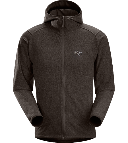 Caliber Hoody Men's Relaxed fit fleece with casual styling, featuring a lined hood and zippered hand pockets and constructed using a luxuriously soft-to-the-touch Polartec® micro-fleece textile