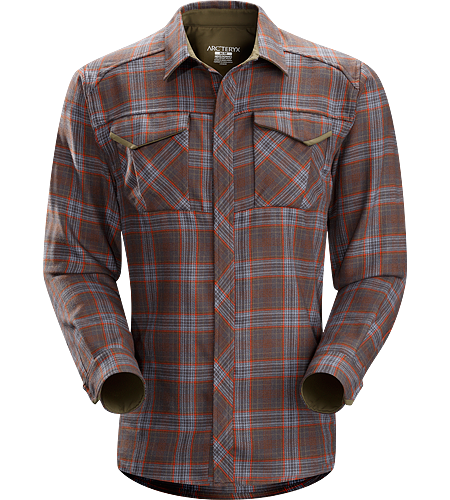 Cavus Shirt LS Men's Polyester/wool blend flannel shirt