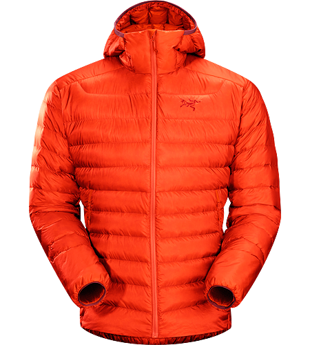 Cerium LT Hoody Men's Down Series: Down insulated garments | LT: Lightweight. Streamlined, lightweight down hoody filled with 850 white goose down. This backcountry specialist hoody is intended primarily as a mid layer in cool, dry conditions.