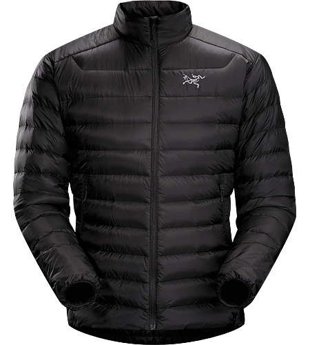 Cerium LT Jacket Men's Down Series: Down insulated garments | LT: Lightweight. The lightest down piece in this collection. Streamlined, lightweight down jacket filled with 850 white goose down. This backcountry specialist jacket is intended primarily as a mid layer in cool, dry conditions.