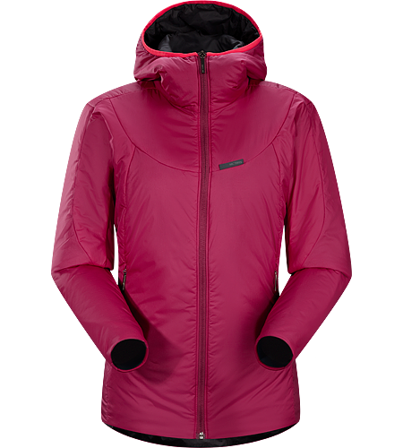 Ceva Hoody Women's Versatile, lightweight, insulated hooded jacket designed to be worn as either a cold weather mid layer, or as a stand alone piece in cold dry conditions