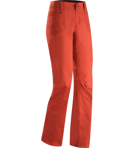 Cheema Pant Women's Slimmer fit jean style pants constructed with a durable cotton canvas with a hint of stretch.